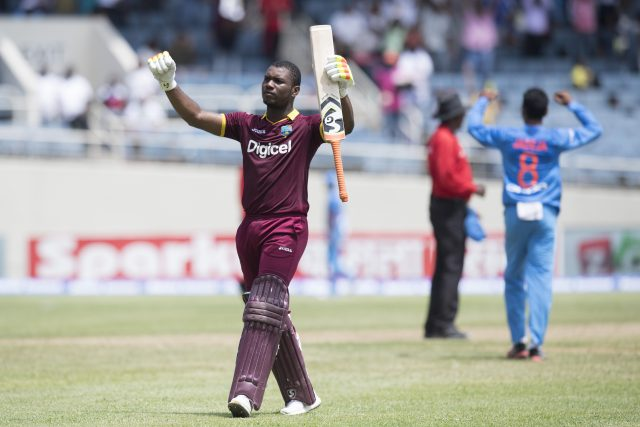 Evin Lewis hits T20 tonne to guide side to victory