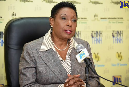 Olivia Grange says the Government is unable to provide the level of funding required to support cricket franchise Jamaica Tallawahs