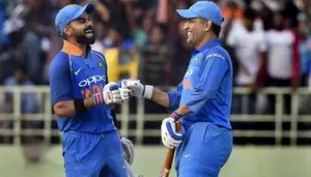 mahendra singh dhoni only wanted to make way for rishabh pant in t20s virat kohli