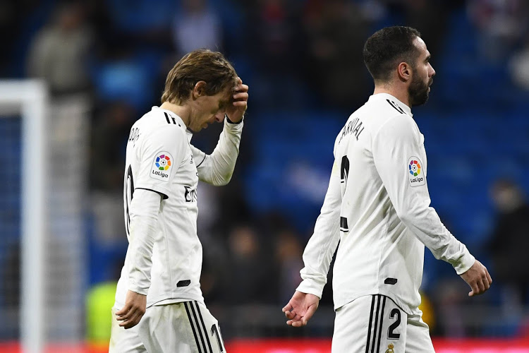 Real Madrid may not even challenge for the title let alone win it as a shock 2-0 defeat at home to Real Sociedad yesterday left them 10 points behind Barcelona in La Liga.