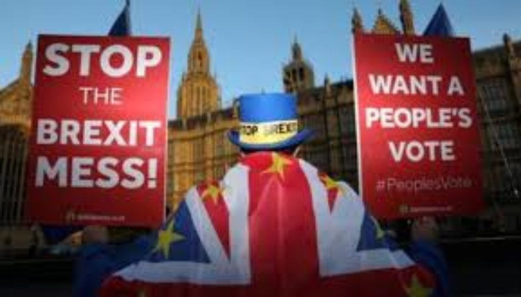 British MPs have voted to take control of the Brexit agenda, away from the government..jpg
