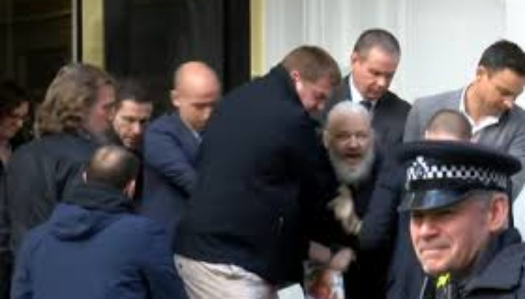 Wikileaks co-founder arrested in London.jpg