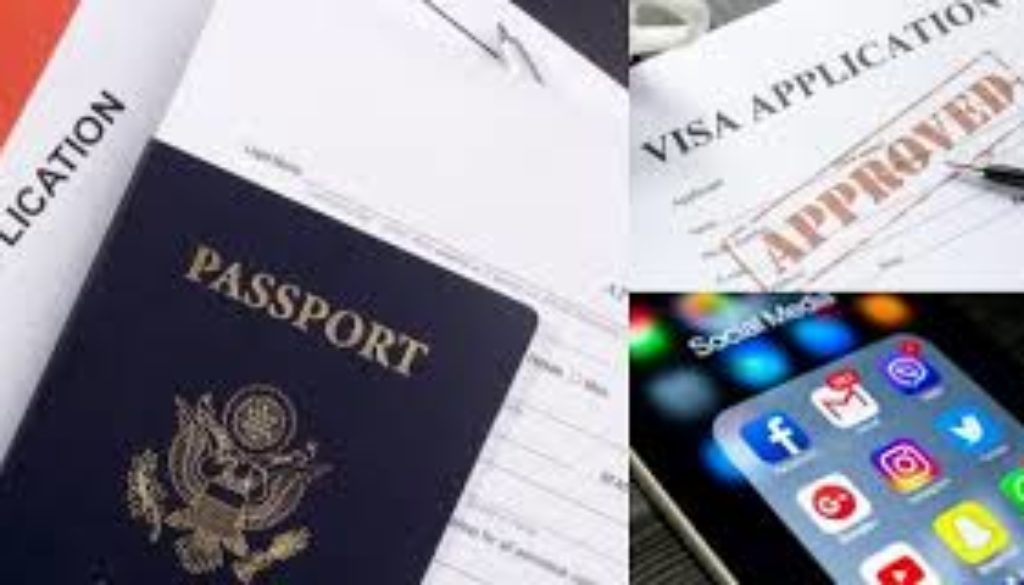 Visitors now have to provide social media names for US visa