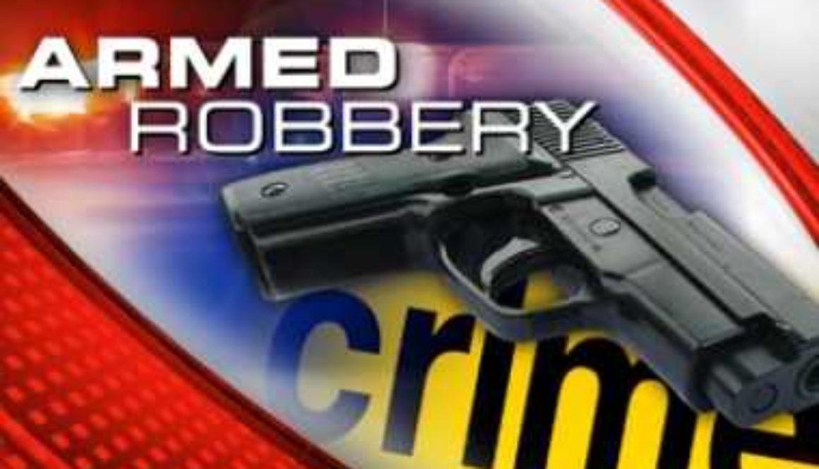 armed robbery crime scene