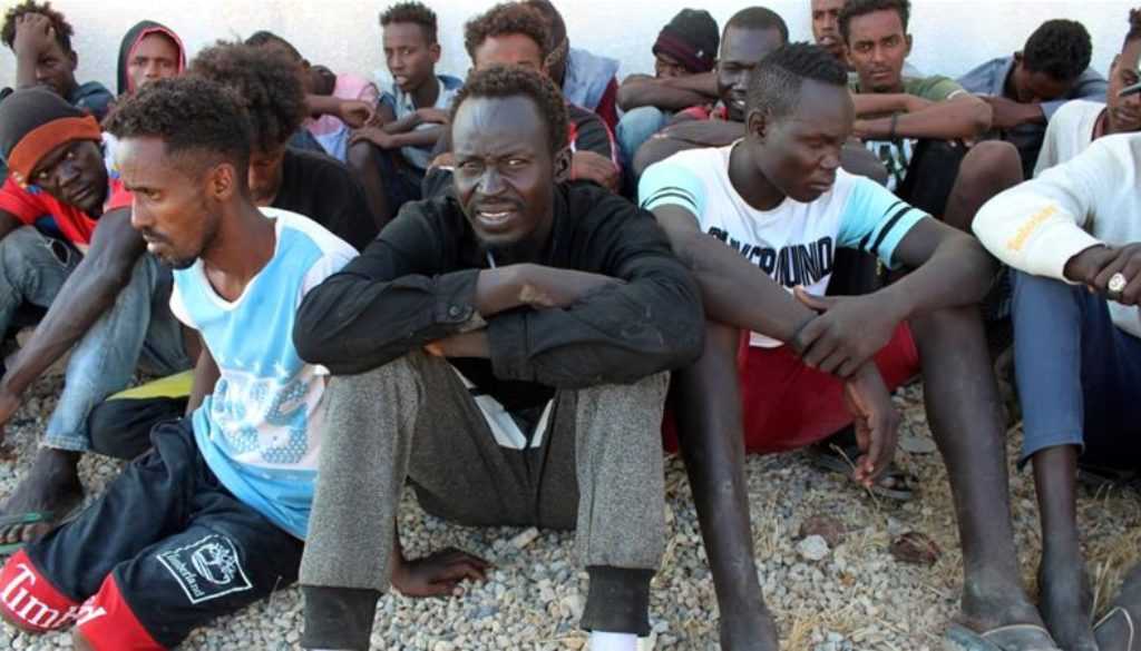 The United Nations says at least 150 refugees and migrants are feared to have drowned off the coast of Libya