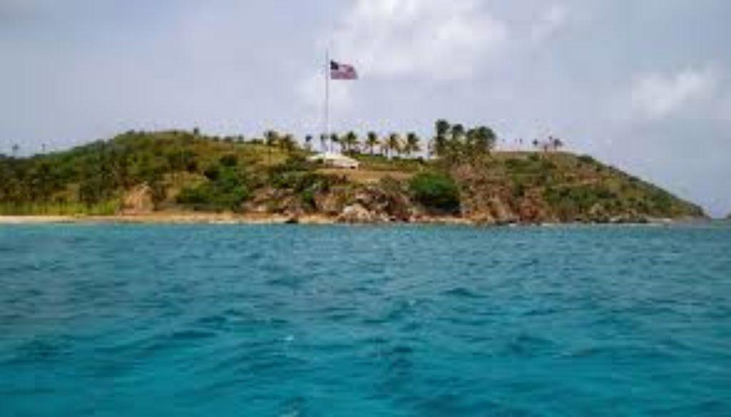 FBI agents search island belonging to Epstein in USVI